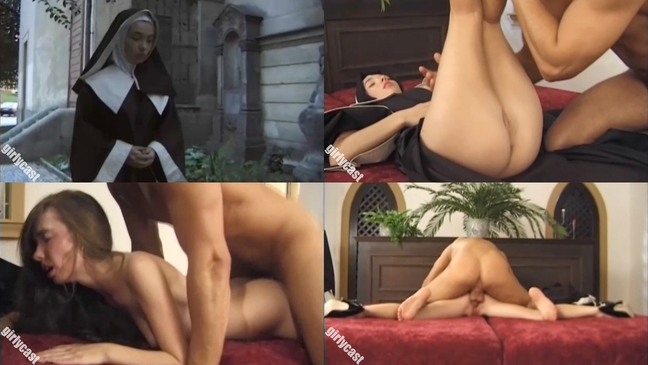 Stand blowjob a girls from point